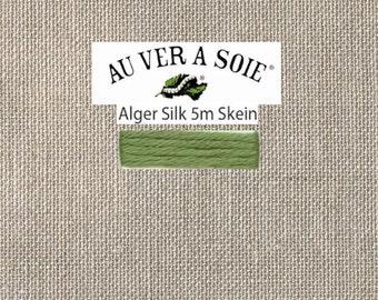 Kreinik - Au Ver A Soie - Soie d'Alger - Color 3723S - Pistschio Green Medium - 5.5 Yards - By the Skein