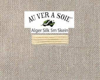Kreinik - Au Ver A Soie - Soie d'Alger - Color F10G - Beige Cream - 5.5 Yards - By the Skein