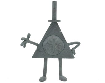 Gravity Falls - Mini Bill Cipher Statue v2.0