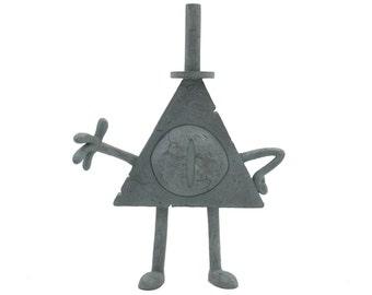 Gravity Falls - Mini Bill Cipher Statue v2.0
