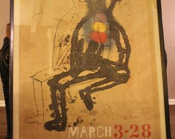 Vintage Ben Shahn lithograph poster March 3-28