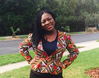 African Clothing, Africa  print Shirt