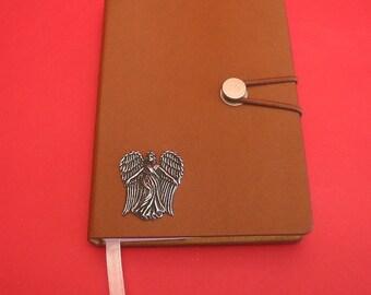 Guardian Angel A6 Tan Journal  Note book