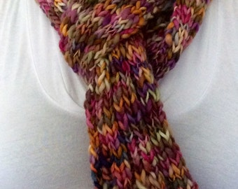 Multi Color Wool Scarf