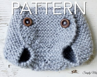 SALE! Knit Diaper Cover Pattern // PDF Download // Newborn Knitting Pattern // Simply Maggie