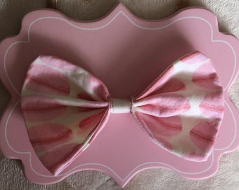 Pink Macaroon Bow