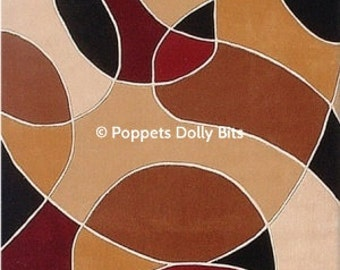 5 to choose from peel n stick dolls house rugs - we match wallpapers too for that coordinated look :)