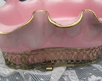 1950's Pink Planter or Trinket dish.
