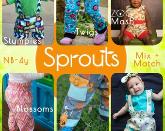 SPROUTS! Shorts, pants, leggings, bubble shorts and more for Babies and toddlers from newborn to ...