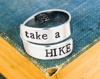Take A Hike Ring