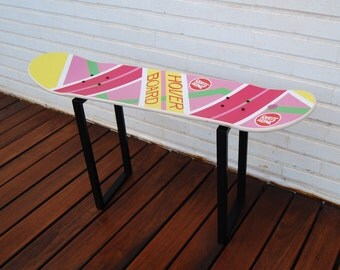Back to the future , hoverboard Special  Edition , Skateboard stool , Special gift for skateboarders