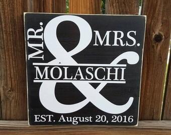 Split letter & Est. sign Mr. and Mrs.