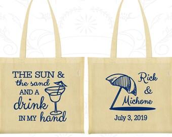 Custom Tote Bags, Tote Bags, Wedding Tote Bags, Personalized Tote Bags, Wedding Welcome Bags, Wedding Bags, Wedding Favor Bags (298)