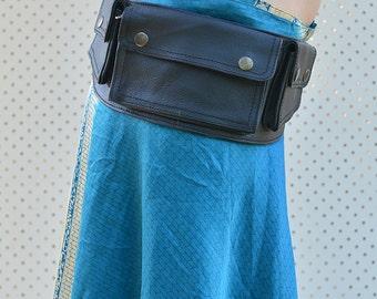 Ava High Quality Leather Utility Belt, Festival Belt, Pocket Belt, Bum Bag, Hip Bag, Festival Fanny Pack, //CHRISTMAS SALE//