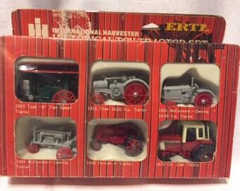 ERTL historical tractors