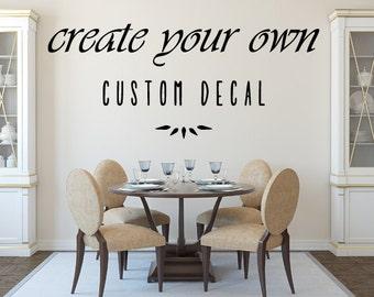 Custom Vinyl Decals Etsy - Custom removable vinyl decals
