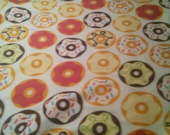 Doughnut Fleece Tie Blanket