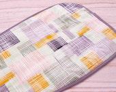 Pram Liner, Stroller Liner, Buggy Liner, Matching Strap Covers Available - 'Crosshatch Green'