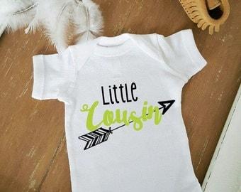 Little Cousin Boho Bohemian Arrow Baby Bodysuit Customize Color Baby Top