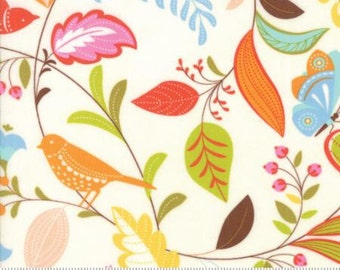 Moda Wing & Leaf by Gina Martin Wing Leaf Cloud 10060 11 - Quilt, Quilting, Clothing, Crafts