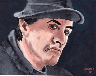 Rocky Balboa Canvas Painting