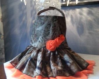 Camo Harness Dress