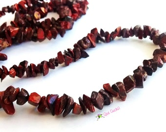 jasper chips Necklace 80cm around the neck