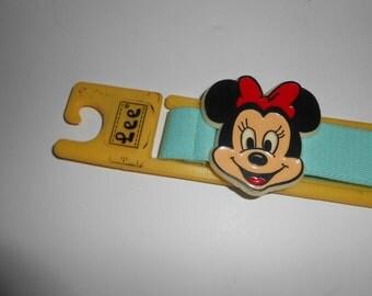 Vintage 70s 80s Lee Disney Minnie Mouse Girls Belt Unused