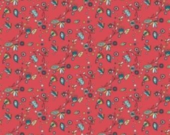 Breezy Floral (Organic Poplin Fabric) for Birch Fabrics