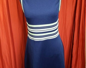Vintage 1970's Athletic Styled Dress