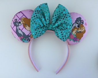 Lady and the Tramp Minnie Mouse Ears