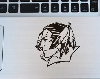 Fighting Sioux Vinyl Decal.Available in ALL sizes/colors!