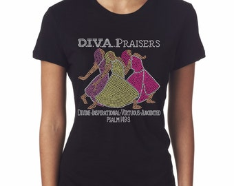 D.I.V.A. Praisers T-Shirt © 2016. All Rights Reserved.