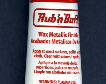 Antique White 76311R ~ Amaco Rub 'N Buff Uncarded Wax Metallic Finish Crafts etc
