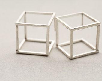Cubic Earrings L
