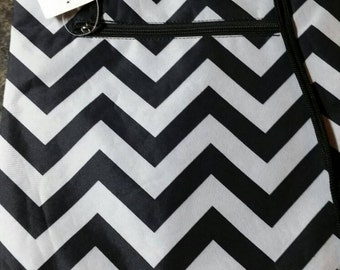 chevron print drawstring backpack.  great for school or just  a fun bag to carry.