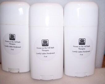 All Natural Deodorant 3 oz