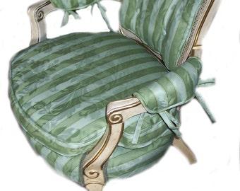Custom French Chair Slipcover
