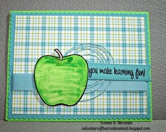 You Make Learning Fun!... Greeting  Card...