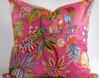 Quadrille Jacranda Pillow Cover