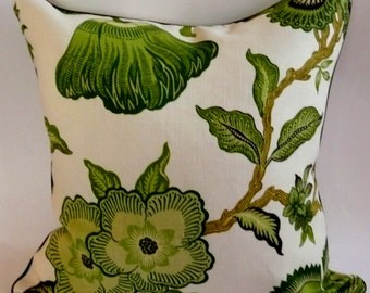 Hot House Flowers Pillow Cover