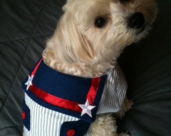 Sailor's Suit Dog Costume