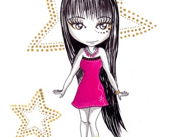 Pretty Ana Dess  - Illustration (ON COMMAND)