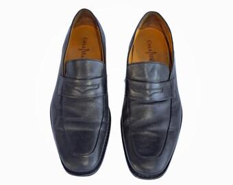 Vintage Cole Haan men formal shoes black genuine leather