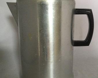 Vintage Aluminum Coffee Pot