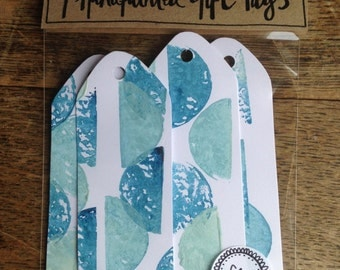 Original hand-painted gift tags