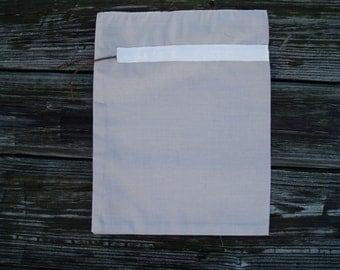 Silk Wool Drawstring Lingerie Travel Bag