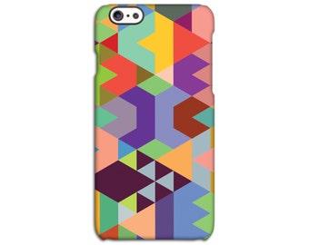 Geometric Multicoloured Case for iPhone 4/4S 5/5S 5C 6/6S 6/6S Plus SE