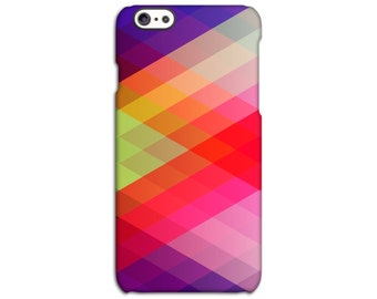 Geometric Multi Coloured iPhone Case