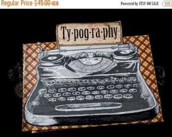 ON SALE - Graphic 45 Typography Mini Album